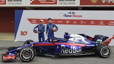 Toro Rosso dévoile sa première monoplace née de sa collaboration avec Honda