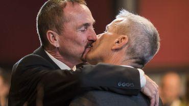 Premier couple homosexuel marié en Allemagne.