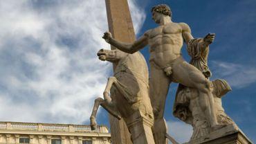 Le Palais du Quirinal est situé sur la plus haute colline de Rome