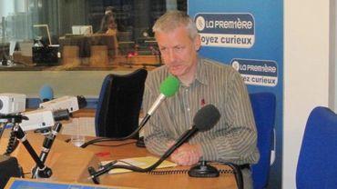 Michel Genet, directeur de Greenpeace Belgique