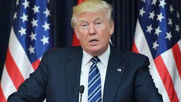 """""""Après sept mois d'enquêtes et d'auditions des commissions sur ma 'collusion avec la Russie', personne n'a été capable de montrer la moindre preuve. Triste!"""", a tweeté Donald Trump."""
