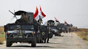 Les forces irakiennes avancent vers Hawija, le 3 octobre 2017