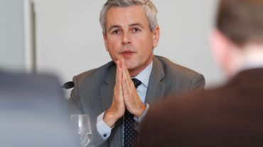 Le ministre wallon du Budget, le socialiste Christophe Lacroix.