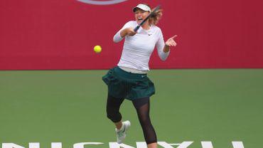 Maria Sharapova rejoint le dernier carré à Tianjin
