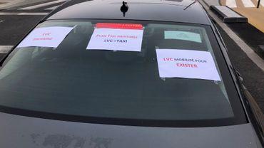 Action des chauffeurs UBER