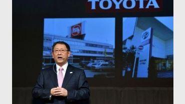 Le président de Toyota Motor, Akio Toyoda, le 25 décembre 2012 à Tokyo