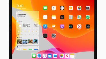 iPadOS offre un nouvel écran d'accueil réunissant davantage d'applications et de widgets.