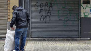 """L'organisation clandestine basque ETA a reconnu le """"mal"""" qu'elle a causé pendant sa lutte armée pour l'indépendance du Pays basque et demandé pardon aux victimes, dans un communiqué."""