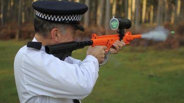Un pistolet à ADN pour marquer les dinquants