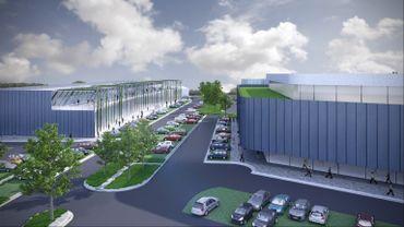 L'espace retail dans le nouveau projet d'extension du Roua