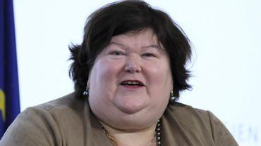 Maggie De Block, ministre fédérale de Santé