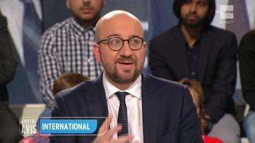 Charles Michel dans l'émission A votre avis.