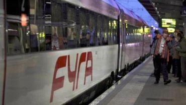 Fyra - AnsaldoBreda accuse la SNCB d'avoir entaché sa réputation