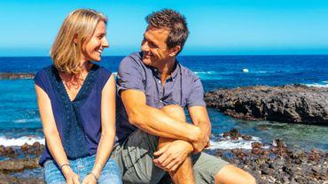 Amandine et Thomas, deux Belges positifs et proactifs sur l'île de La Réunion, nous aident au développement personnel.