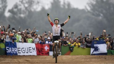 Victoire de Nino Schurter, Kevin Panhuyzen 20e en mountainbike