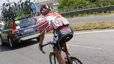 Cyclisme: Victime d'un bris de chaîne et arrivé hors délai, Dehaes quitte le Giro