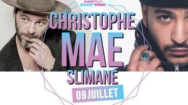 Christophe Maé et Slimane complètent l'affiche du Baudet'stival !