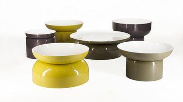 """Tables """"Pluvial"""" de Federico Churba."""