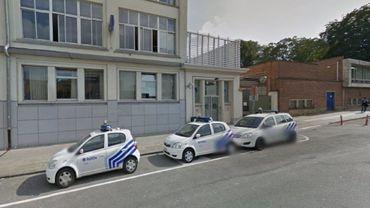Le commissariat de la rue Démosthène à Anderlecht