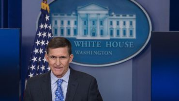 Mike Flynn le 1er février 2017 à la Maison Blanche à Washington