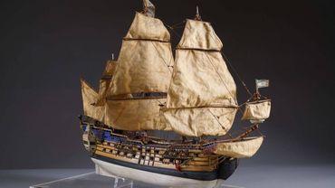 La maquette originale de la Licorne adjugée 32.000 euros