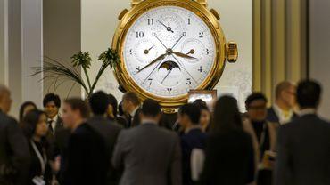 Suisse: le plus grand salon de l'horlogerie s'est ouvert à Bâle
