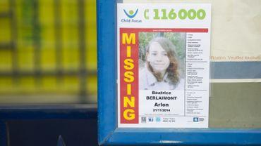 La disparition de la petite Béatrice Berlaimont avait, en vain, elle aussi mobilisé Child Focus.