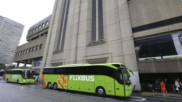 A la gare du nord, Amadou Ourez s'était caché sous un bus de la compagnie Flexibus qui faisait route vers l'Angleterre.