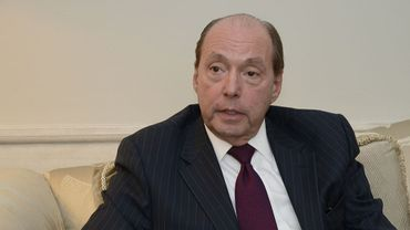 L'ambassadeur des Etats-Unis Ronald Gidwitz
