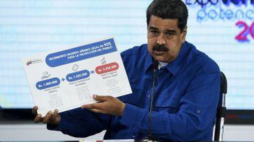 L'inflation s'affole au Venezuela, Maduro double le salaire minimum