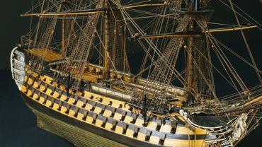 L'Océan, vaisseau de 118 canons, dans son état de 1807