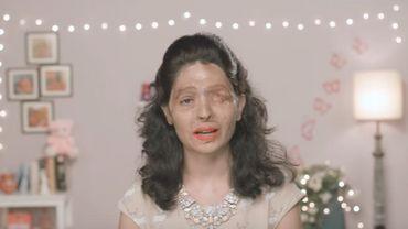 Elle est devenue le visage d'une campagne appelant à mettre fin à la vente libre d'acide en Inde et elle apparaît notamment dans des vidéos sur YouTube où elle donne des conseils de beauté et de maquillage.