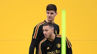 """Thibaut Courtois souhaite la bienvenue à Eden Hazard """"dans le meilleur club du monde"""""""