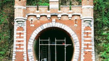 Le tunnel de Dalhem a fait l'objet d'une belle restauration qui se terminera dans quelques jours