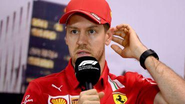 """Vettel """"surpris"""" que Ferrari décide de ne pas le reconduire en 2021"""