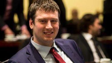 Le député N-VA Peter Dedecker, celui qui a allumé la mèche ACW
