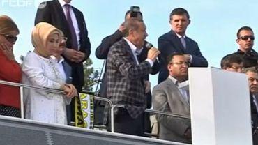 """Turquie: pour Erdogan, la patience du gouvernement a """"des limites"""""""