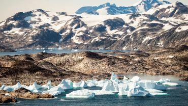 Des iceberg près de Kulusuk, le 15 août 2019 au Groenland