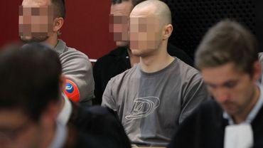 Orlando Leblond durant son procès aux Assises