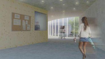 Les travaux de construction de l'Eros Center vont bientôt débuter