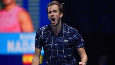 Première finale au Masters de Londres pour Daniil Medvedev