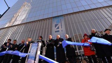 La première tour inaugurée depuis l'attentat