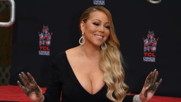 Hollywood rend hommage à la diva pop Mariah Carey