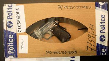 L'arme utilisée par Rodolfo Rosi pour commettre son forfait