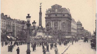 Bout d'histoire: Place De Brouckère