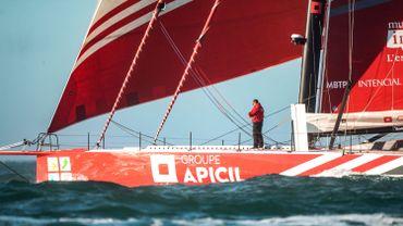 Damien Seguin effectue une belle remontée et se retrouver deuxième du Vendée Globe