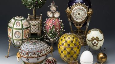 """Les célèbres oeufs de Fabergé sont à l'honneur dans""""Le temps d'une histoire""""210330054459"""