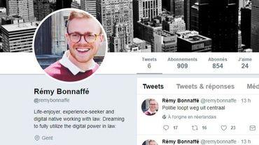 Rémy Bonnaffé est le seul témoin direct de l'attaque de mardi soir.