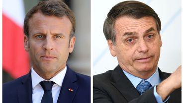 """Pour Emmanuel Macron, les feux en Amazonie constituent une """"crise internationale"""""""