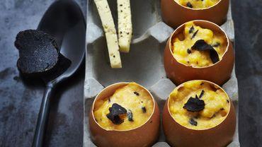 Brouillade d'œufs à la truffe